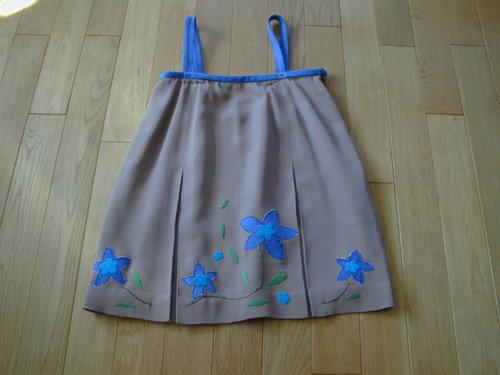 10 ①リメイクスカート