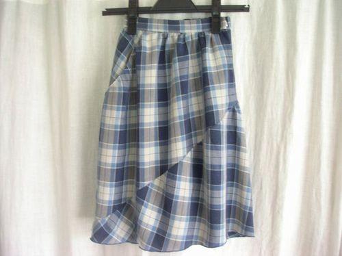 13 ①斜めの切り替えスカート