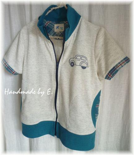 35 ①キッズ半袖ジャケット
