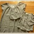 17 ダブルガーゼの親子服
