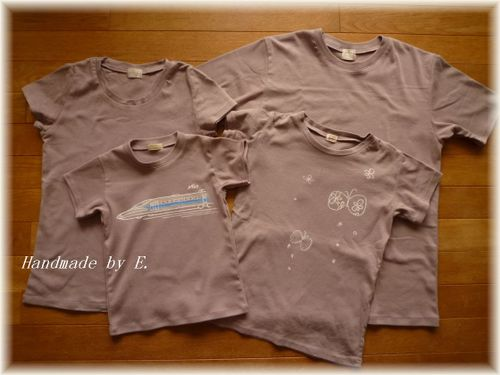 26 ①家族Tシャツ