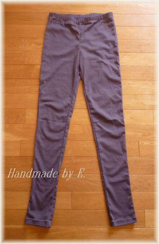 30 レギンス 紫